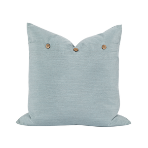 Outdoor Powder Blue Stripe Cushion