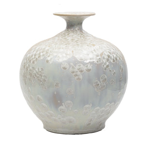 Wide Crystal Vase