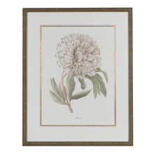 Load image into Gallery viewer, Green & Ivory Floral Lithograph 1