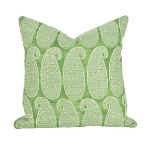 Green Paisley Cushion