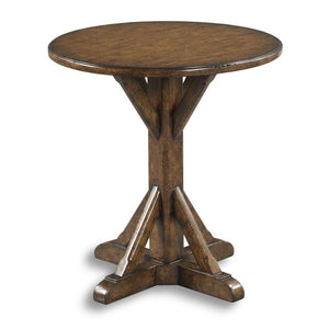 Coulee Cross Foot Side table
