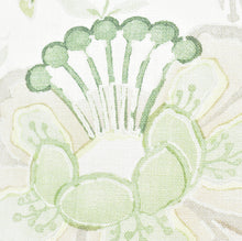 Load image into Gallery viewer, Soft Green Floral Cushion