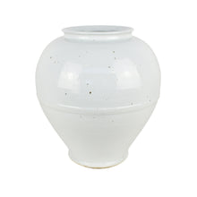 Load image into Gallery viewer, White Round Rim Jar