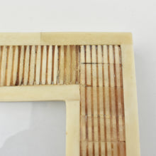 Load image into Gallery viewer, Indigo Triangles Bone Box LRG
