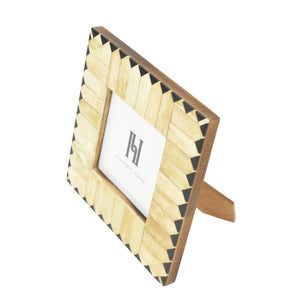 Zig Zag Square Photo Frame