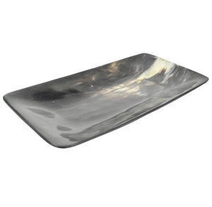 Polished Horn Tray