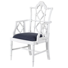 Load image into Gallery viewer, White Chinoise Chair