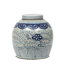 Load image into Gallery viewer, Blue & White Floral Ginger Jar