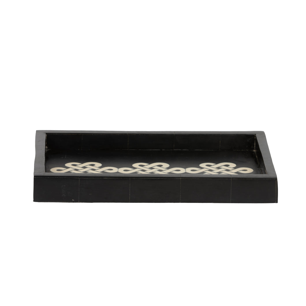 Black Chain Tray