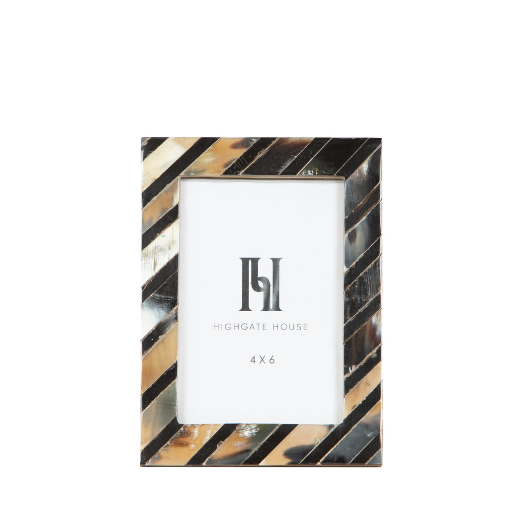 Diagonal Horn Photo Frame