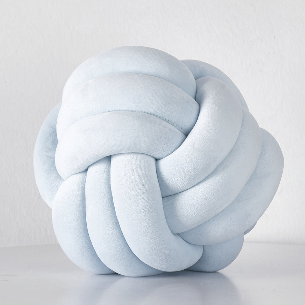 Knot Velvet Throw Pillow 11"
