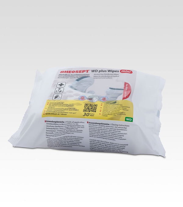 Disinfectant Wipes, Rheosept WD Plus Wipes Mini - Medicoshoppe
