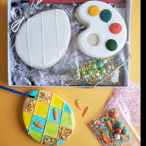 You're Eggcellent! Easter Egg Cookie Decorating Kit