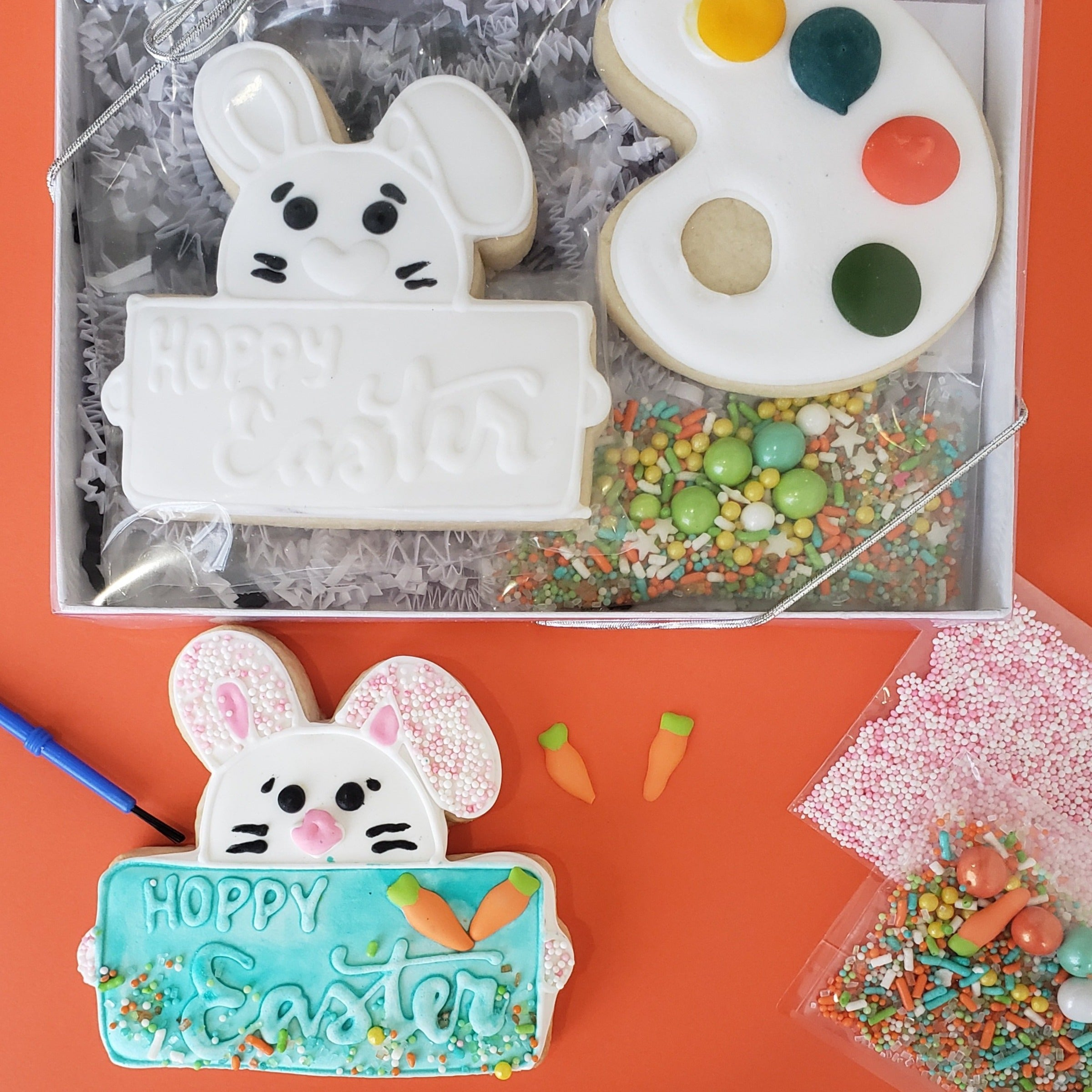"""Hoppy Easter"" Happy Easter Cookie Decorating Kit"