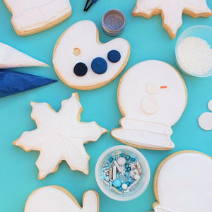 snow cookie decorating kit colormycookie.com