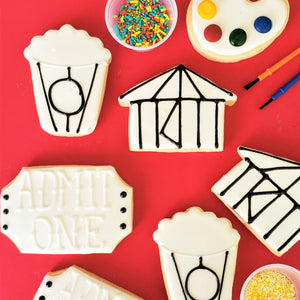 Circus Time Color My Cookie Decorating Kit
