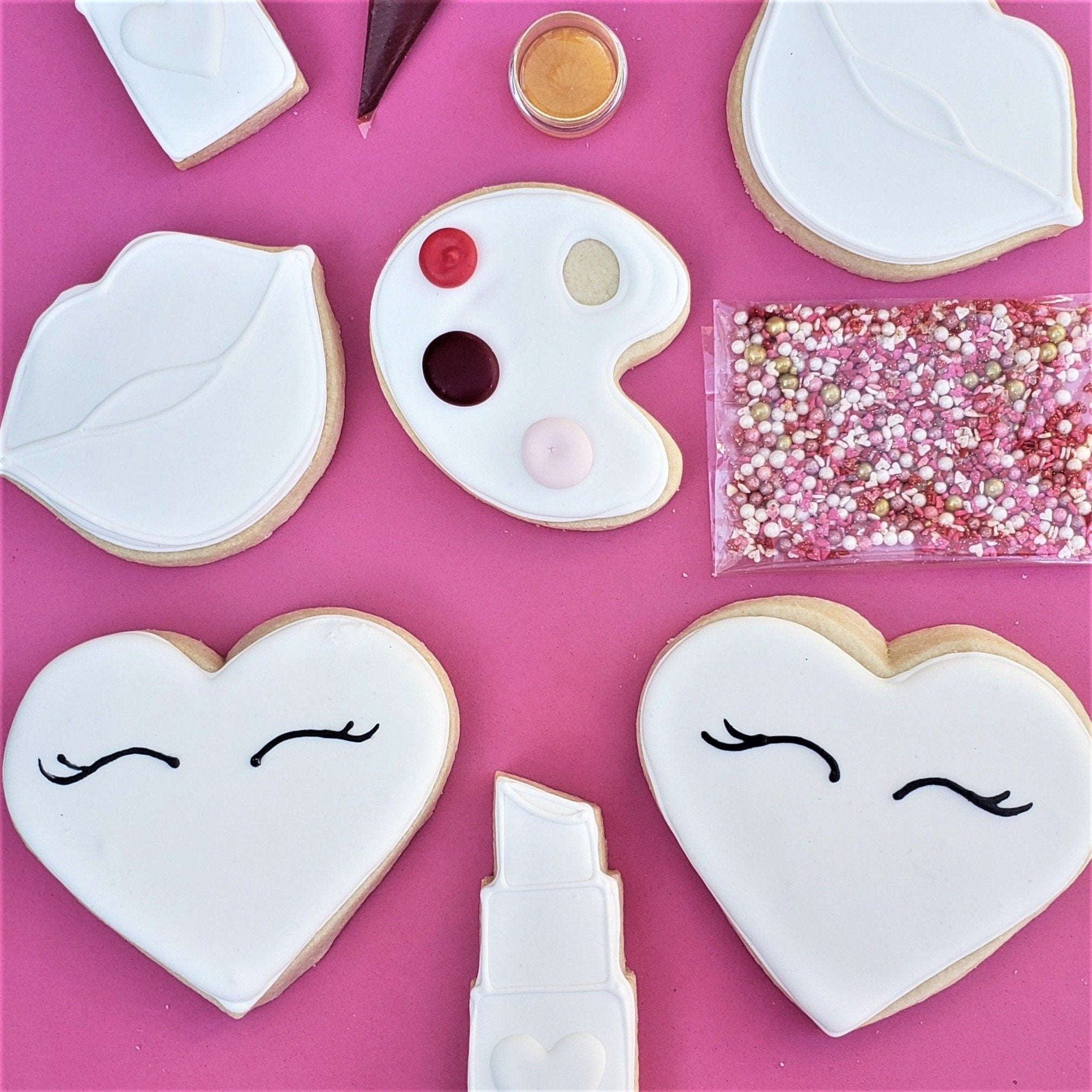 Color My Cookie: You're Like, Really Pretty Valentine's Day Cookie Decorating Kit