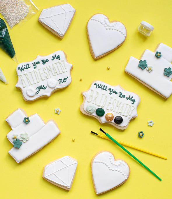 Color My Cookie: Will You Be My Bridesmaid?