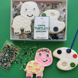 Color My Cookie: You're Turtley Awesome! MINI Cookie Decorating Kit