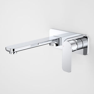 Caroma Luna Wall Basin/Bath Mixer 210mm | Chrome