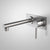 Caroma Titan Wall Basin Mixer 202mm | Stainless Steel