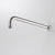 Caroma Titan Wall Shower Arm 400mm | Stainless Steel