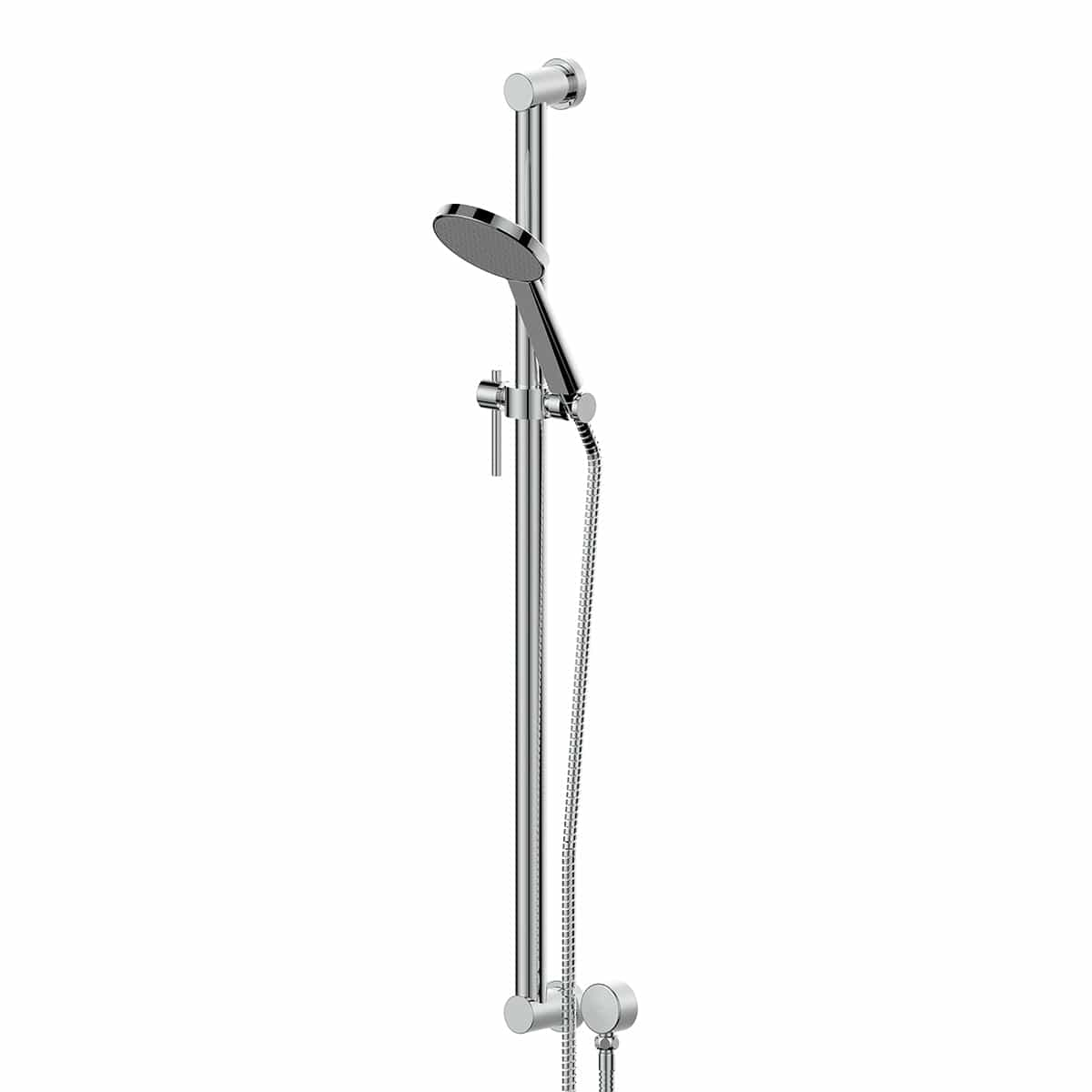 Greens Glide RainBoost Grab Rail Shower | Chrome
