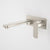 Caroma Luna Wall Basin/Bath Mixer 210mm | Brushed Nickel