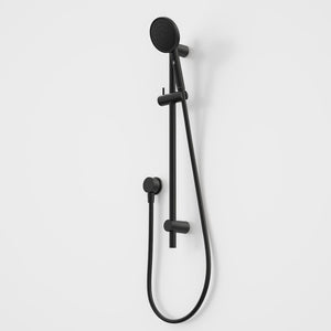 Caroma Urbane II Rail Shower | Matte Black
