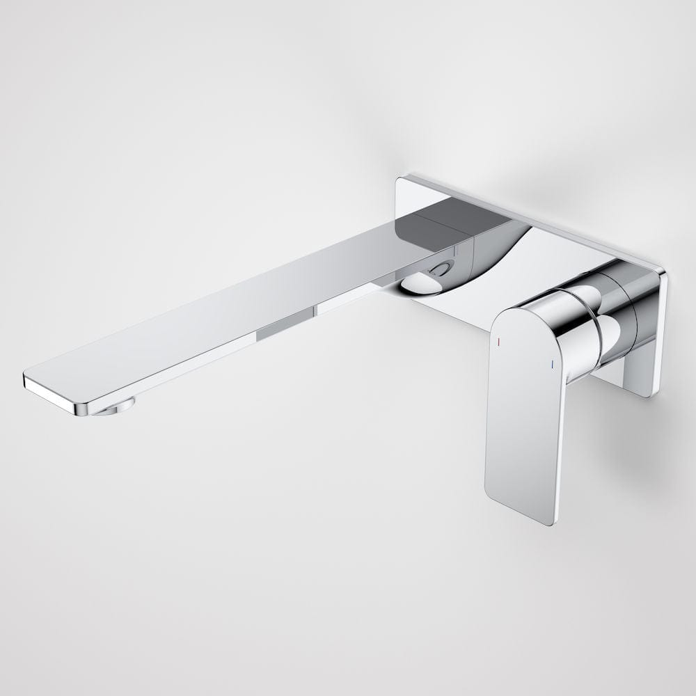 Caroma Urbane II Rectangular Wall Basin/Bath Mixer 220mm | Chrome