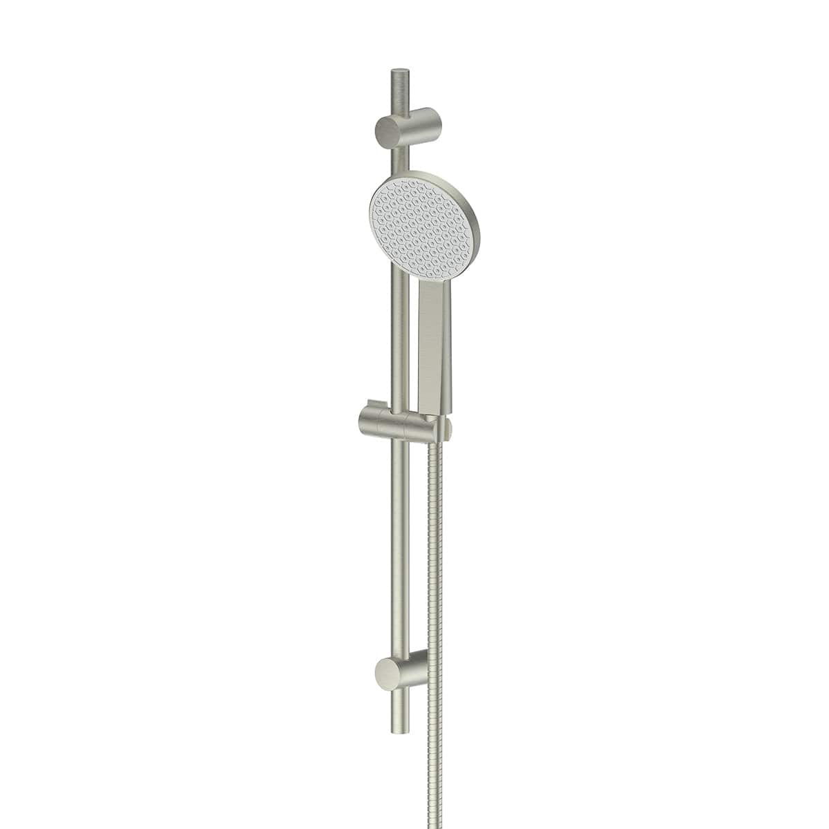 Greens Glide RainBoost Rail Shower | Brushed Nickel