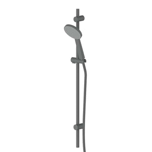 Greens Glide RainBoost Rail Shower | Gunmetal