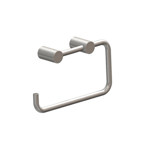 Swiss Toilet Roll Holder | Brushed Stainless Steel