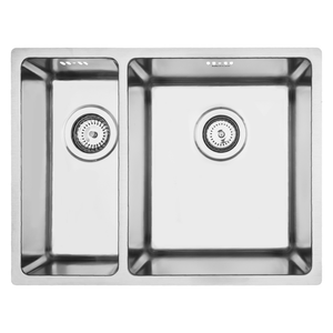 Mercer Pressato 180/340 Double Sink