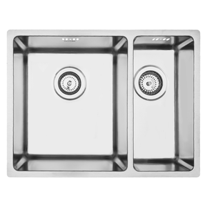 Mercer Pressato 340/180 Double Sink