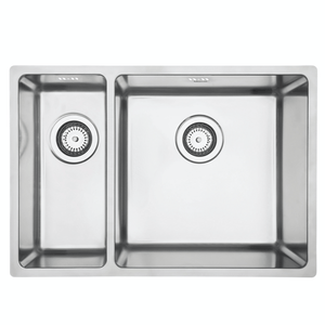 Mercer Pressato 180/400 Double Sink