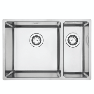 Mercer Pressato 400/180 Double Sink