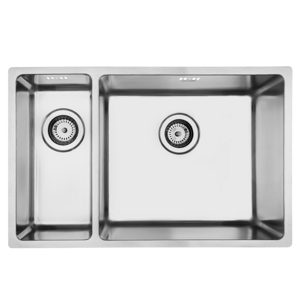 Mercer Pressato 180/450 Double Sink