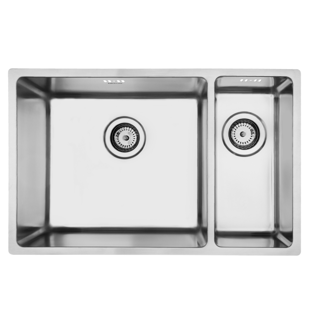 Mercer Pressato 450/180 Double Sink