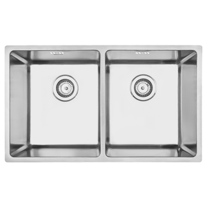 Mercer Pressato 340/340 Double Sink