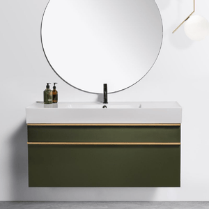 Michel César Twenty 1210 Wall-Hung Vanity | Single Bowl & 2 Drawers