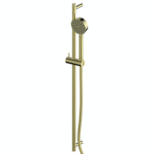 Greens Textura Rail Shower | Brushed Brass