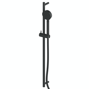 Greens Textura Rail Shower | Matte Black