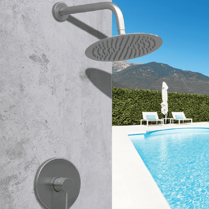 Coastline Outdoor Shower Mixer | 316 Stainless Steel