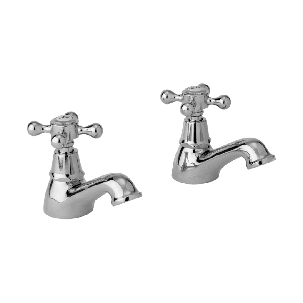 McKinley Empire 15mm Basin Tap Pair | Chrome