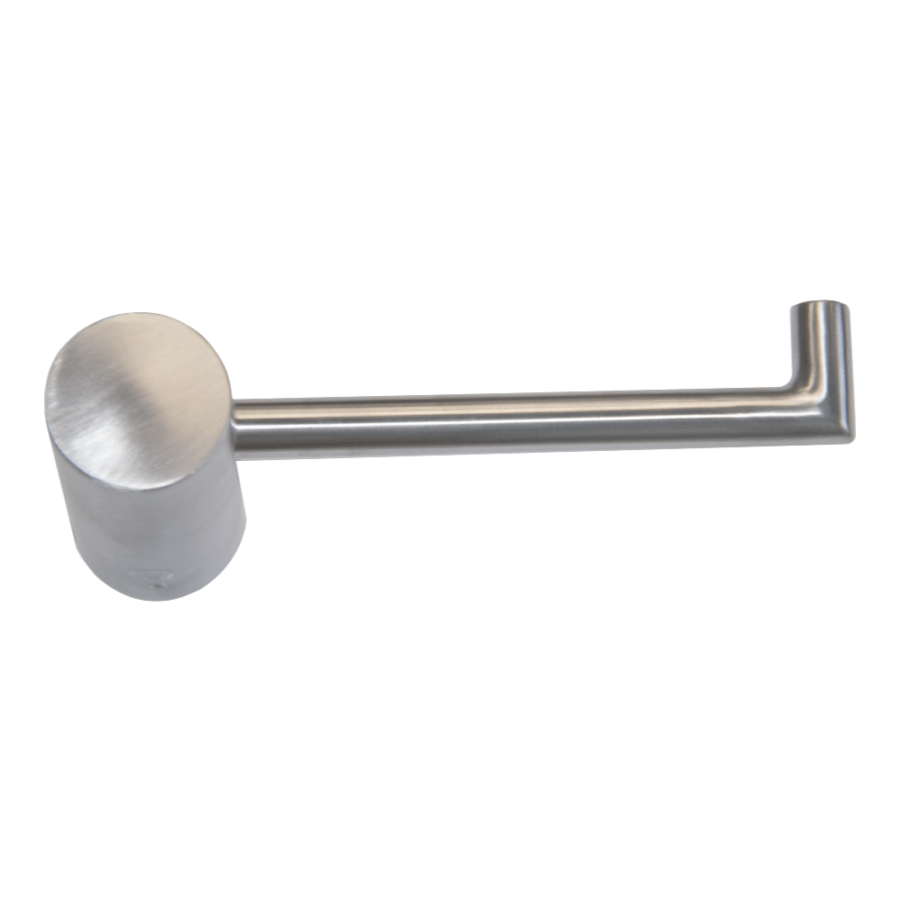 Tranquillity Round Toilet Roll Holder | Brushed Stainless