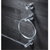 Heirloom Centro Towel Stirrup | Chrome