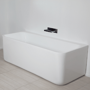 Pure 1500 Freestanding Back To Wall Bath