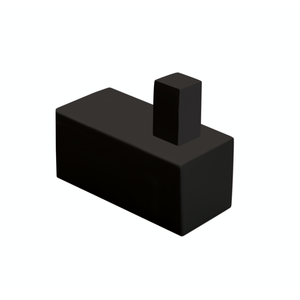 Tranquillity Square Robe Hook | Black