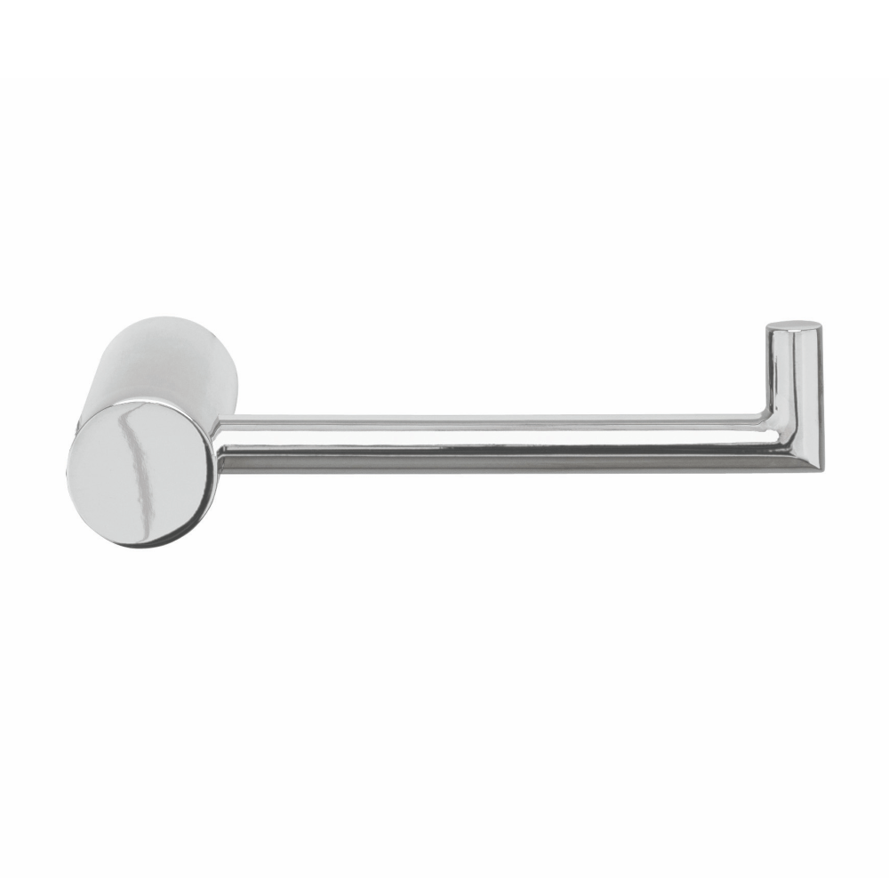 Tranquillity Round Toilet Roll Holder | Chrome